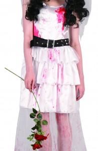 déguisement mariée zombie