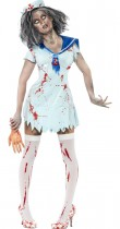 Déguisement marin zombie femme