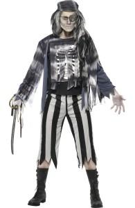 déguisement pirate fantôme homme