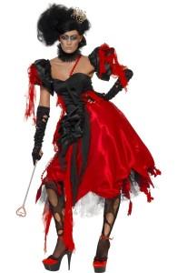 déguisement reine de coeur halloween
