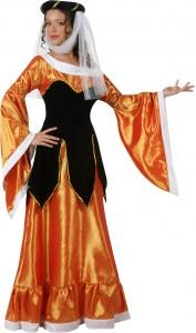 déguisement reine médievale femme