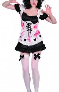 déguisement serveuse zombie