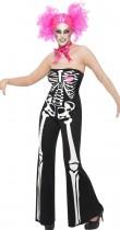 Déguisement squelette disco