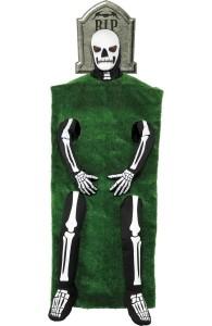 déguisement squelette pierre tombale