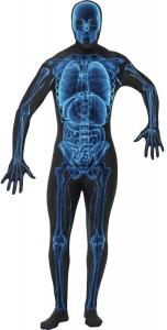 déguisement squelette rayon x