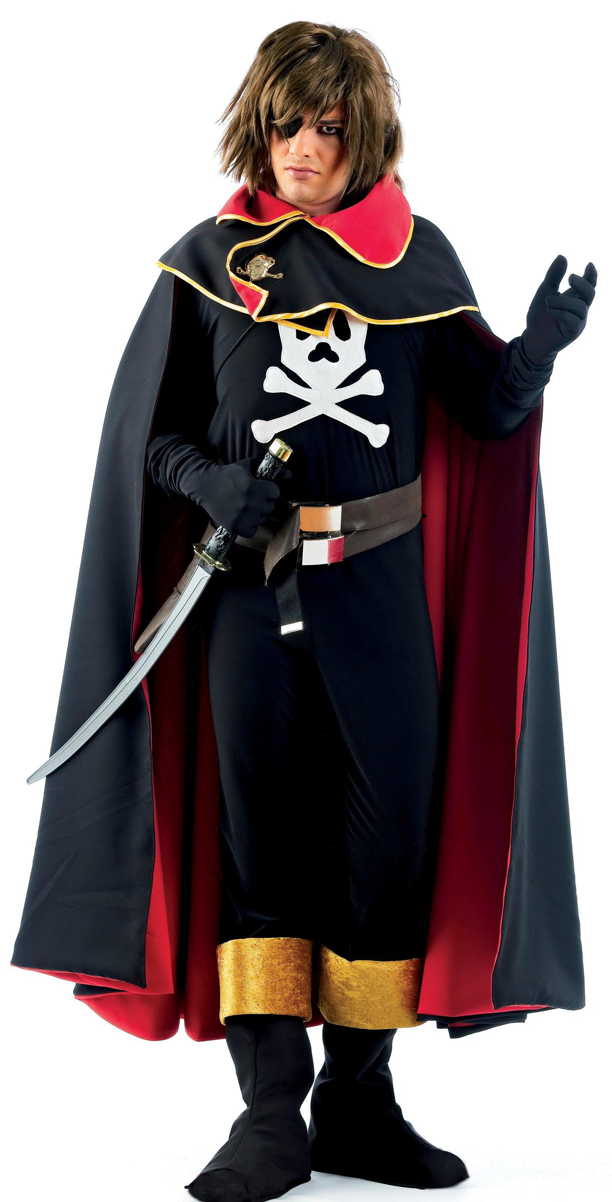 d guisement albator homme costume pirate de l 39 espace soir e costum e. Black Bedroom Furniture Sets. Home Design Ideas