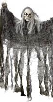 Décoration tête de mort fantôme