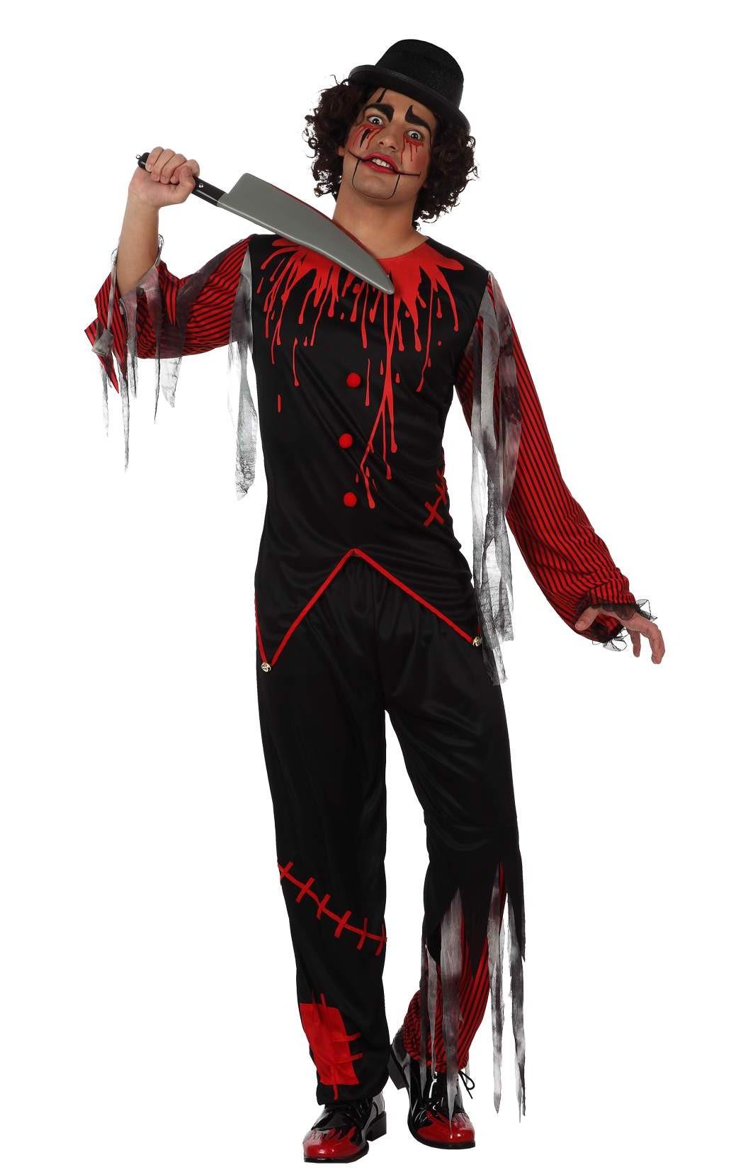 d guisement clown effrayant costume homme pas cher soir e halloween. Black Bedroom Furniture Sets. Home Design Ideas