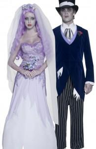 déguisement couple de mariés gothiques