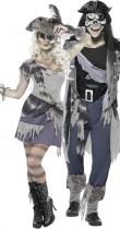 Déguisement couple pirate fantôme