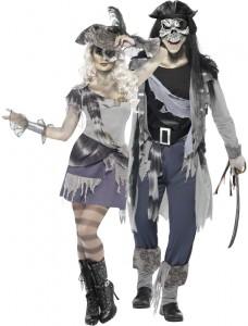 déguisement couple pirate fantome