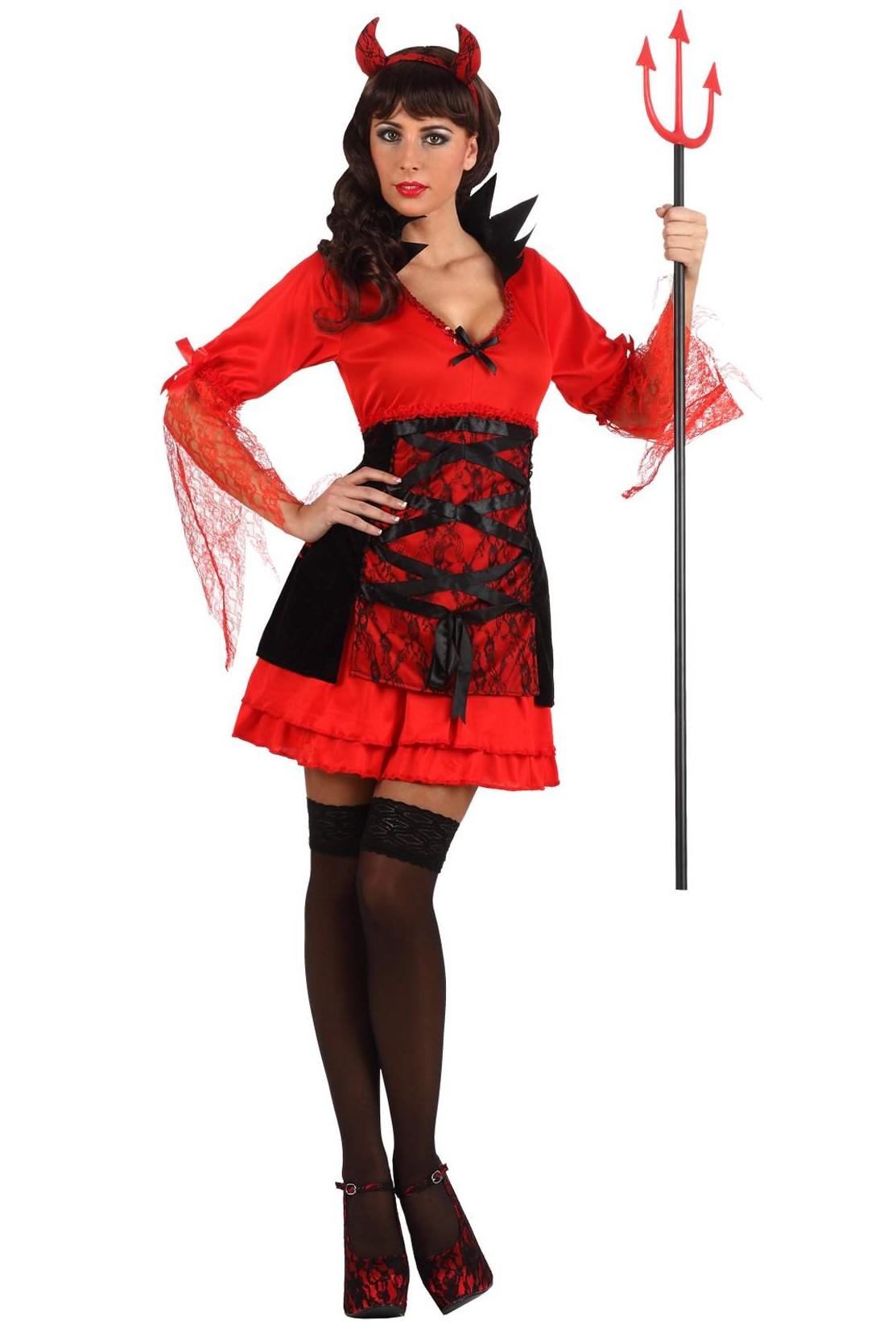 ... démon sexy femme : Costume diablesse pas cher - Soirée Halloween