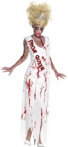 déguisement reine de promo zombie