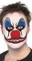 Maquillage clown tueur garcon - Comment faire un maquillage de clown qui fait peur ...
