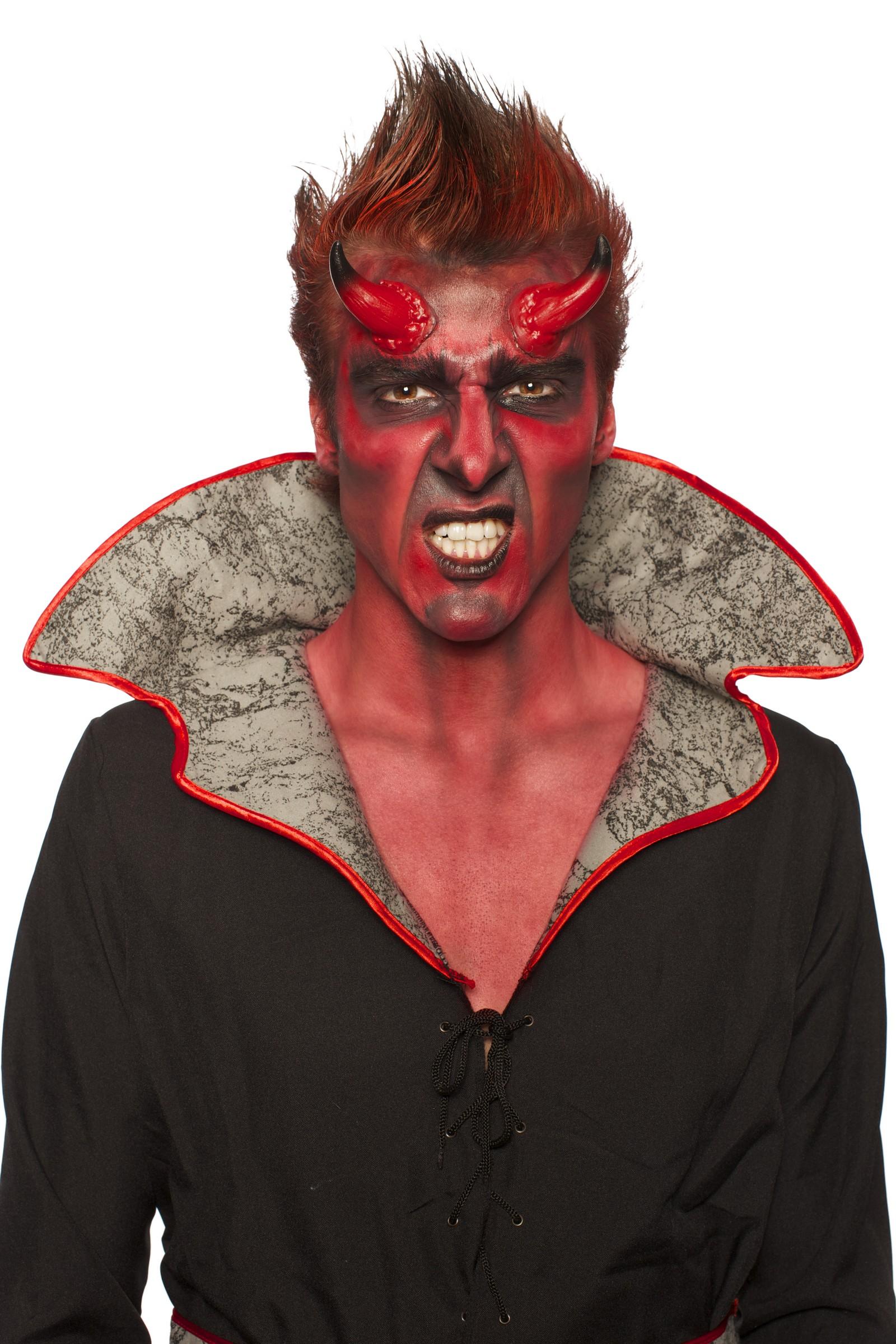 kit maquillage d mon corne de diable maquillage rouge