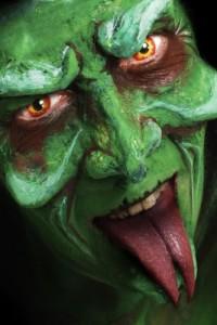 masque de sorcière