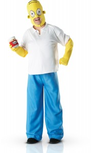 déguisement Homer Simpson