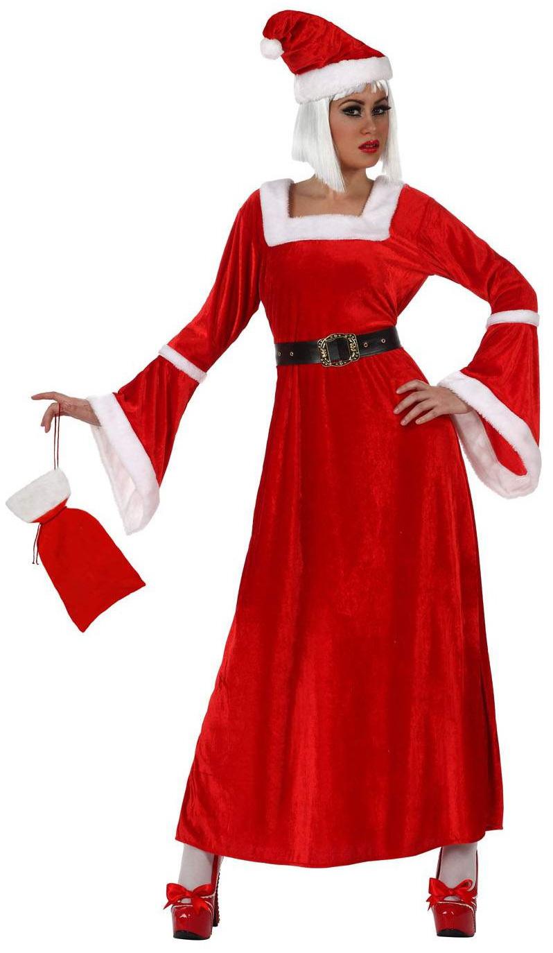 d guisement de m re no l costume rouge femme pas cher f te de fin d 39 ann e. Black Bedroom Furniture Sets. Home Design Ideas