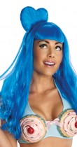 Perruque bleue Katy Perry™
