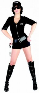 Deguisement FBI femme