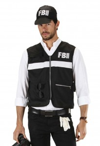 déguisement FBI homme