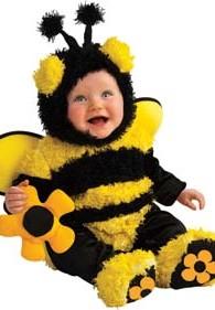 Déguisement bébé abeille