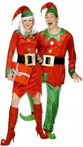 déguisement couple d'elfes