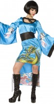 Déguisement geisha pour femme