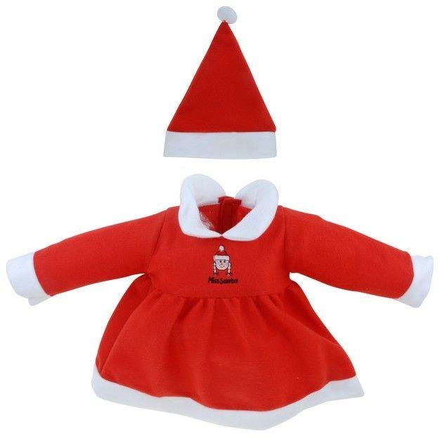 ed3d6c2396527 Déguisement mère Noël pour bébé