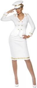 déguisement officier femme