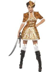 Pirate steampunk femme