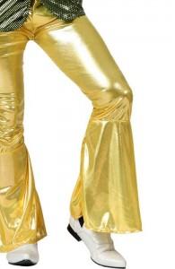 Pantalon doré disco