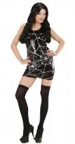 Robe à sequins toile d'araignée