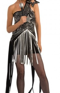 Déguisement robe étoile Lady Gaga