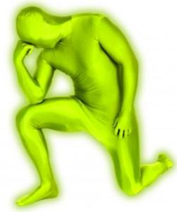 Morphsuits vert fluo
