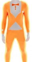 Costume Morphsuit™ orange fluo