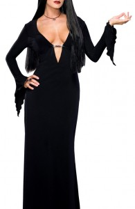 déguisement Morticia Famille Addams