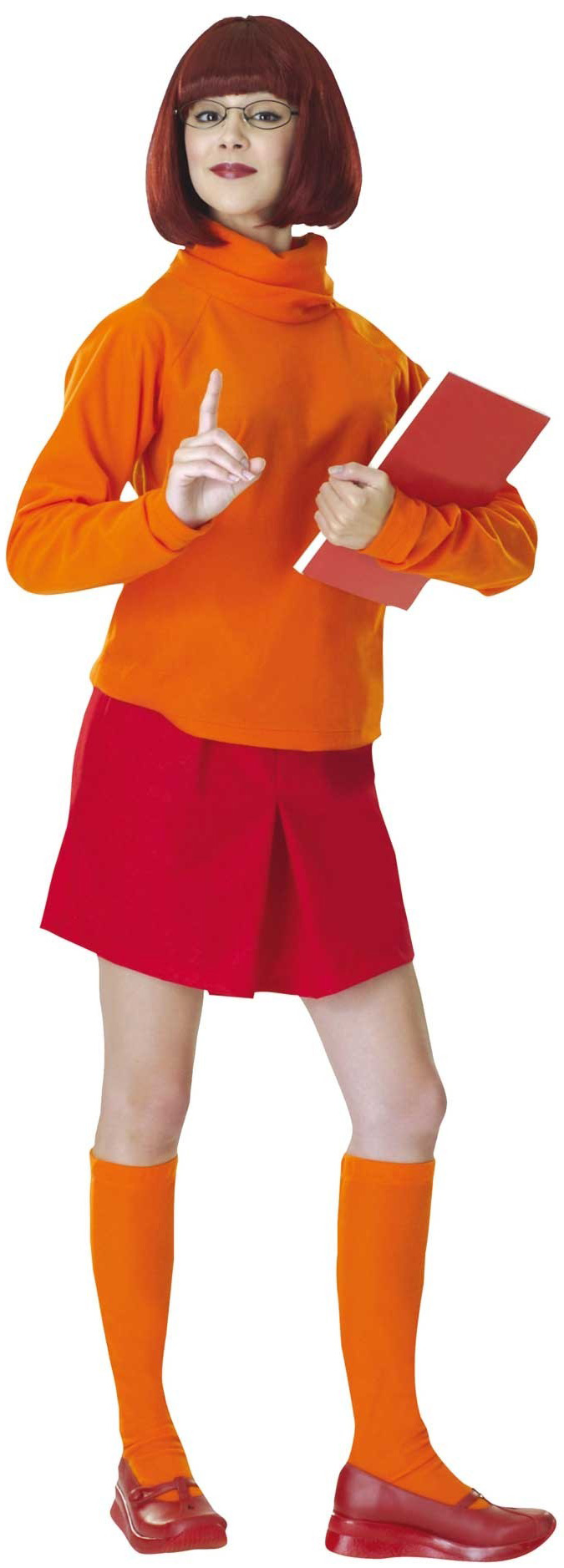 D guisement v ra scooby doo costume velma bande scoubidou - Personnages de scooby doo ...