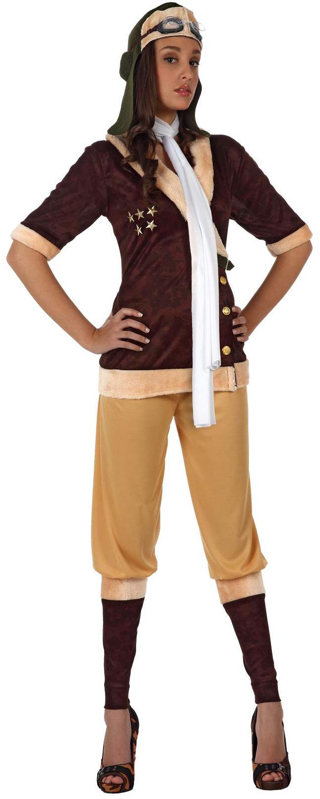 d guisement aviatrice femme pilote de ligne pas cher soir e uniforme. Black Bedroom Furniture Sets. Home Design Ideas