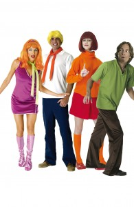 déguisement bande à Scooby Doo