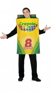 déguisement boite de crayola