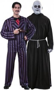 déguisement couple Gomez et Fétide Addams