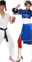 Déguisement couple Street Fighter™ Chun-Li et Ryu