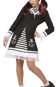 déguisement marin gothique femme