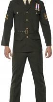 Déguisement officier militaire