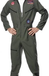 déguisement pilote de ligne Top Gun