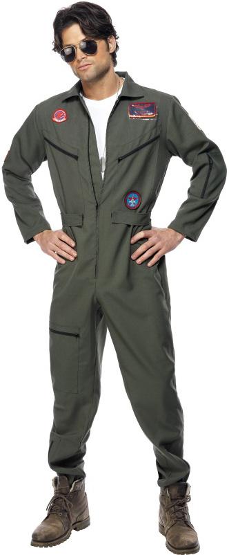 D guisement pilote de chasse top gun costume aviateur soir e uniforme - Deguisement sportif annee 80 ...