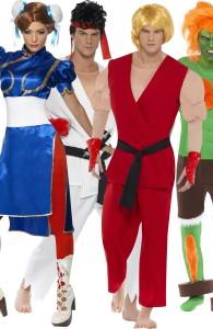déguisement pour groupe Street Fighter