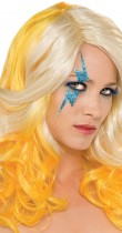 Perruque Lady Gaga™ blonde et jaune