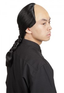 perruque de samourai